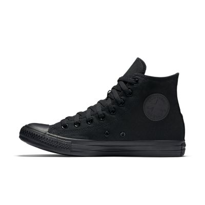 black converse high tops