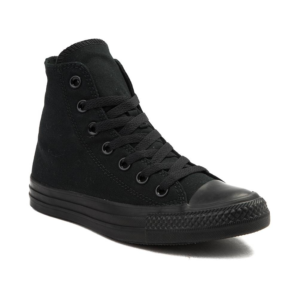cd5e59d310c All Black Converse   Buy Discount Shoes from Asics and Converse ...